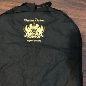 Oxxford Clothes Garment Bag Storage Travel